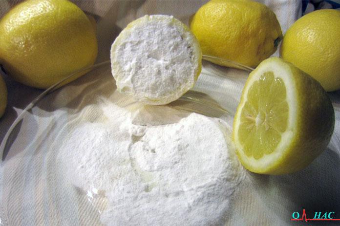 Пищевая сода с лимонным