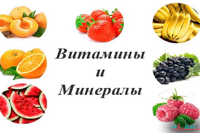 Витамины иминералы