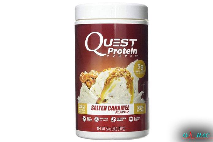 Порошок солёного карамельного протеина (2фунта)