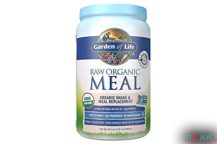 Ванильный порошок для замены еды Garden ofLife (2,1фунта)