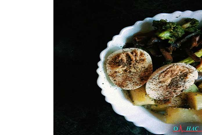 19. Хумус и овощи