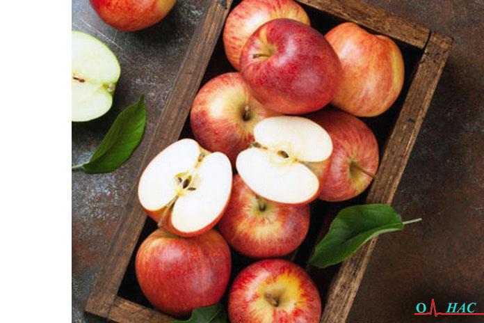Смесь яблок и имбиря